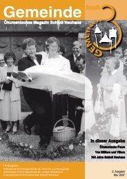 Ausgabe 2 • Mai 2007 - St. Joseph Mastbruch
