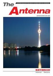 99810999; The Antenna - EDITION WINTER 2007/2008 - Kathrein