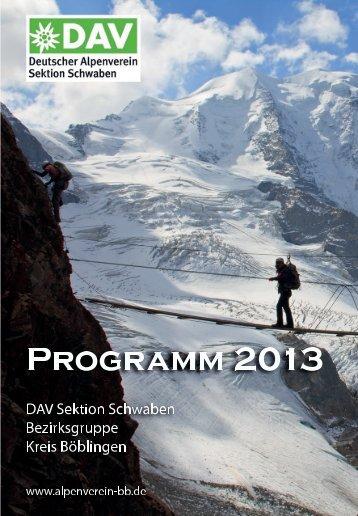 Download (PDF-Datei) - DAV Sektion Schwaben