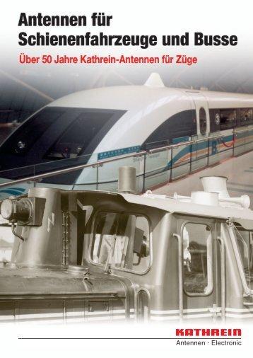 99810495; Antennen für Schienenfahrzeuge und Busse - Kathrein