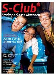 """Ocean's 13"" & ""Stomp the Yard"" - Stadtsparkasse München"