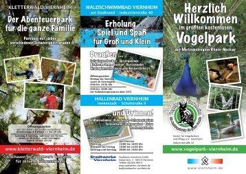 KletterWald VIernheIm - Vogelpark Viernheim