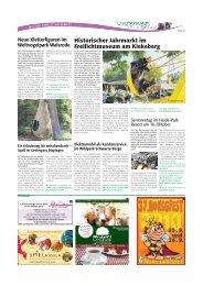Historischer Jahrmarkt im Freilichtmuseum am ... - Heidezeitung
