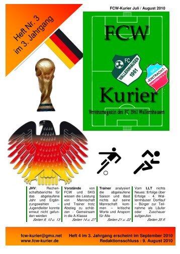 Download von Heft 2010 / 3 - fcw-kurier.de