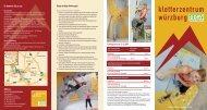 Folder Kletterzentrum Wuerzburg (pdf) - Climbing.de