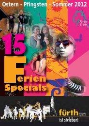 Ostern - Pfingsten - Sommer 2012 - Fürther Bündnis für Familien