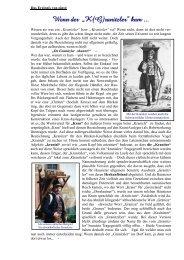 Das Ereignis von einst: - Klettgau-Historia