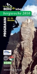 Bergwoche Programmheft (PDF-download - 1,6 MB) - Further ...