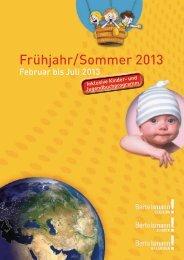 Frühjahr/Sommer 2013 - bei wissenmedia