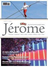 25 Jahre Kulturzelt Optimist und Menschenfreund ... - Jérôme Kassel