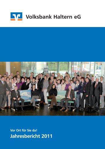Jahresbericht 2011 - Volksbank Haltern eG