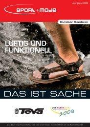 Outdoor Sandalen - Sport + Mode