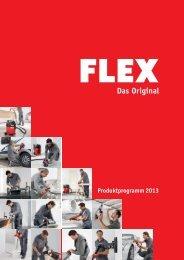 Produktprogramm 2013 - FLEX