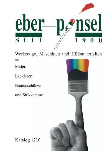 Werkzeuge, Maschinen und Hilfsmaterialien - awi Eberlein GmbH