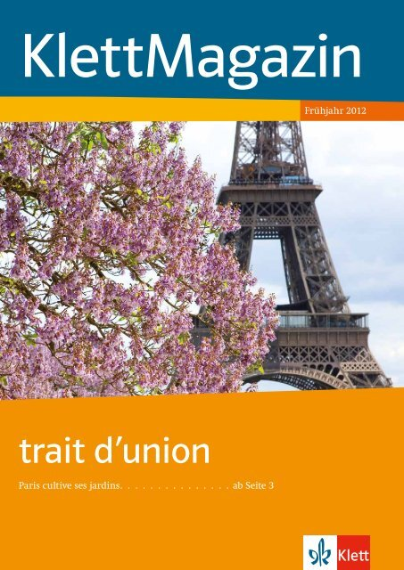 Trait Dunion Ernst Klett Verlag