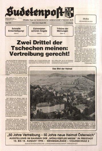 Vertreibung gerecht! - Sudetenpost