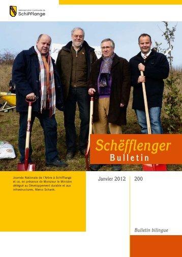 Bulletin 200 en Pdf - Administration Communale de Schifflange