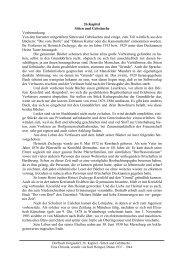 26.Kapitel Sitten und Gebräuche Vorbemerkung Von den hierunter ...