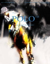 Lanson Open Hamburg 2011 - Polo+10 Das Polo-Magazin