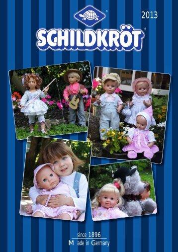 PDF: Schildkrötkatalog 2013 - Schildkröt Puppen und Spielwaren ...