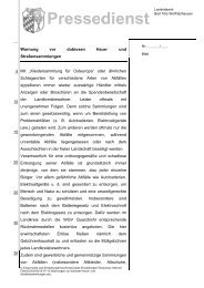 Warnung vor dubiosen Haus - Landratsamt Bad Tölz - Wolfratshausen