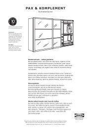Ikea Broschure Kleiderschranke 2013