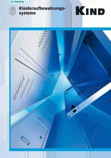 Prospekt Kleideraufbewahrungssysteme (pdf