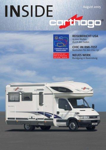INSIDE 08_05 - Carthago Reisemobilbau GmbH