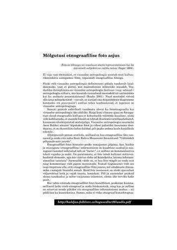 vaata siit .pdf faili - Folklore.ee