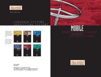 Clothing stands - Geschäftsausstattung von fws-moebel