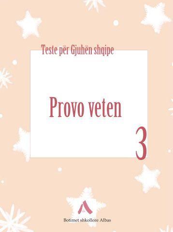 Testet Gjuha Shqipe 3 - Albas