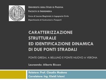 Presentazione della tesi - Collegio Universitario Gregorianum