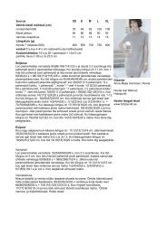 Suurus XS S M L XL Valmis kleidi mõõdud (cm) rinnaümbermõõt 76 ...