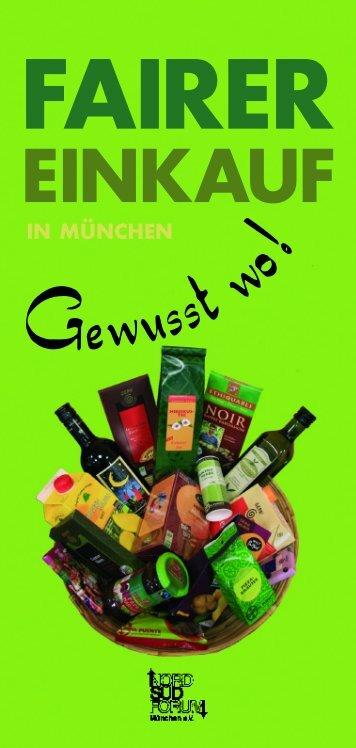 Gewusstwo! - Nord Süd Forum München eV