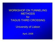 LISBON Presentation on Immersed Tube Tunneling April 08