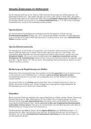 Aktuelle Änderungen im Waffenrecht - Stadt Kaufbeuren