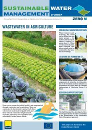SUSTAINABLE WATER MANAGEMENT 2-2007 - Zer0-M