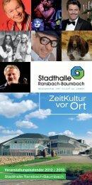 Veranstaltungen 12-13 RaBa.indd - Verbandsgemeinde Ransbach ...