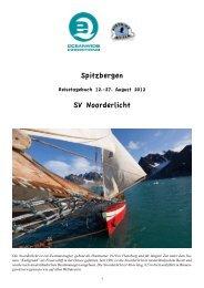 Reisebericht - Spitzbergen
