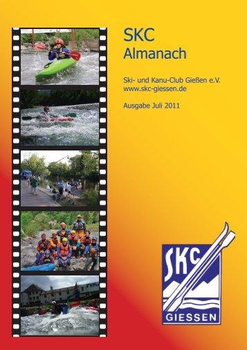 Almanach - SKC-Giessen