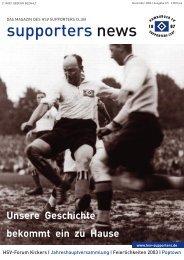 Ausgabe 37 12/2003 - HSV-Supporters