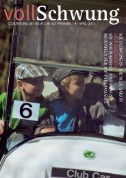 Ausgabe April 2012 - Golf Club Gut Freiberg
