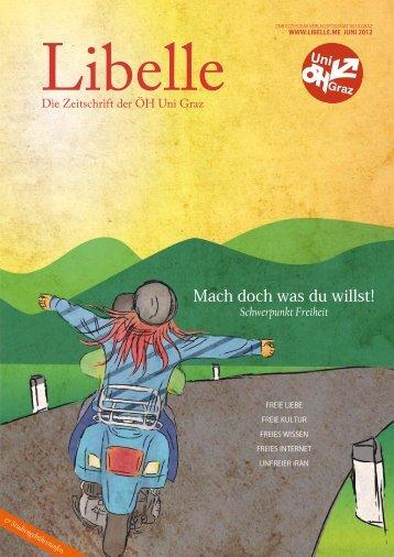 Libelle - Juni 2012 - Schwerpunkt Freiheit