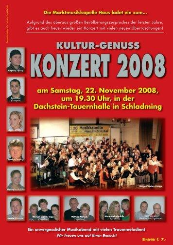 programm_2008 - Musikverein Haus