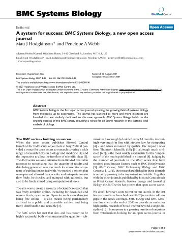 View PDF - BioMed Central