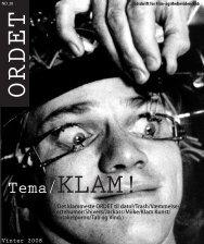 Tema/KLAM! - ORDET