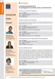 Gesellschaft - Volkshochschule des Saale-Orla-Kreises