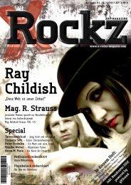 Mag. r. Strauss - X-ROCKZ MAGAZIN