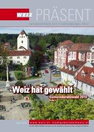 Gemeinderatswahl 2010 - Weiz