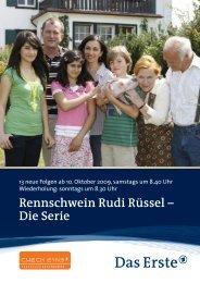 Rennschwein Rudi Rüssel – Die Serie - WDR.de